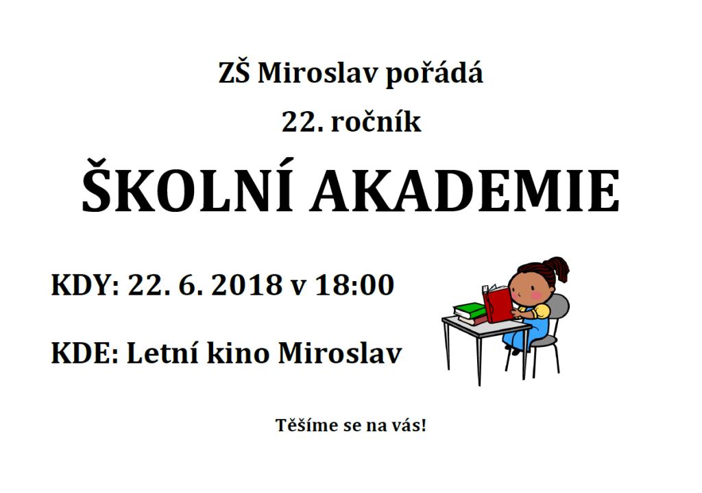 Školní akademie 2018