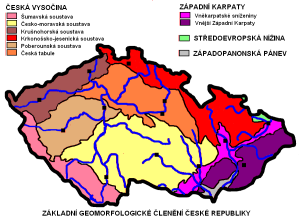 geologická mapa čr