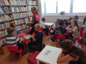 Návštěva knihovny - 4. A 1